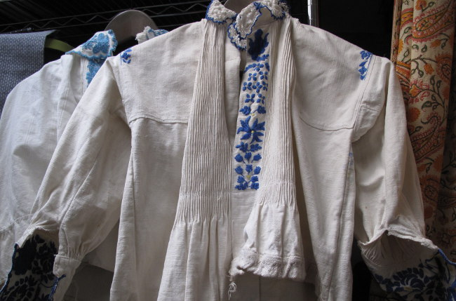 Hungarian Embroidered shirts